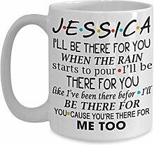 N\A Tasse à café personnalisée d'amis Tasse