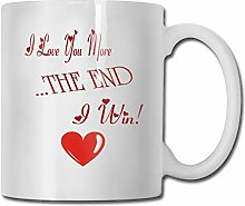 N\A Tasse à café Welerony Maison Je t'aime