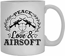 N\A Tasse de café d'amour de Paix et
