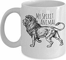 N\A Tasse de Lion - Mon Animal de Compagnie est Un