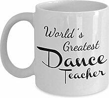 N\A Tasse de Professeur de Danse - Cadeaux