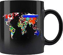 N\A Tasse de thé de Tasse de café en céramique