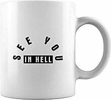N\A Tasse de thé ou de café au Revoir en Enfer