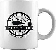 N\A Tasse de thé ou de café Bike Club Tasse