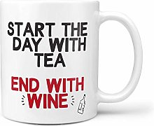 N\A Tasses à café Amusantes - Commencez la