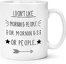 N\A Tasses à café de nouveauté drôle, Je ne