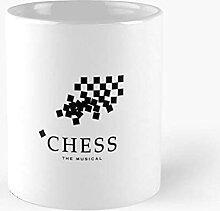 N\A The Musical Chess - Best 11 Ounce Ceramic Mug