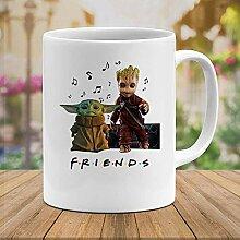 N/bébé #Yoda et bébé #Groot Friends émission