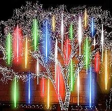 N\C Guirlande lumineuse à LED avec gouttes de
