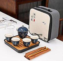 N\C Service à thé portable comprenant 1