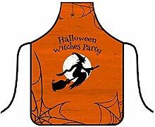 N\C Tabliers de sorcières amusants pour Halloween