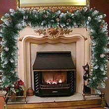 N/S 2,7m Guirlandes de Noël Décoration,