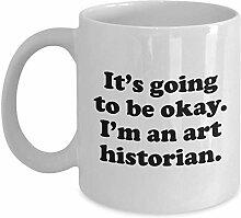 NA Cadeau drôle d'historien d'art - Tasse