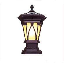 NAMFMS Lampadaire à énergie Solaire à LED