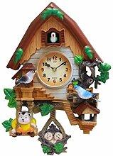 NANANA Pendulette en Miniature de la Forêt Noire