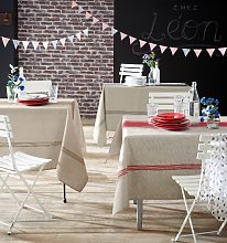 Nappe Bistrot Gris polyester