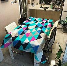 Nappe d'impression De Triangle Géométrique