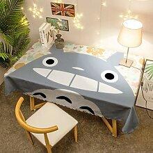 Nappe de Table dessin animé japonais Totoro,