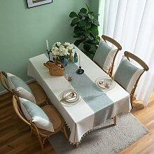 Nappe de Table en dentelle rectangulaire moderne,