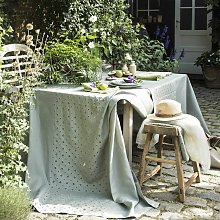 Nappe LUXEMBOURG Olive en lin