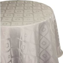Nappe ovale 180x300 cm jacquard 100% polyester