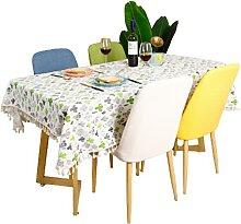Nappe Rectangulaire en Polyester Domestique Motif