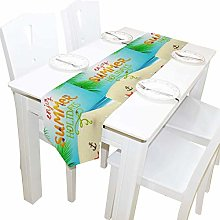 Napperons 13x90 pouces de long chemin de table
