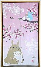Narumikk Studio Ghibli Mon voisin Totoro noren