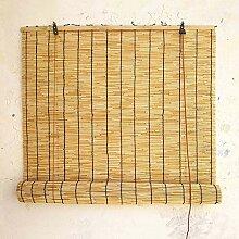 Naturel Rideau Bambou Extérieur Rétro Rideau De