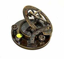 Nautical.Gift.Decor Horloge solaire fascinante en
