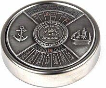 Nauticalia Calendrier 50 Ans Argent Antique