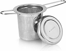 Navaris Infuseur thé - Filtre à thé INOX Trous