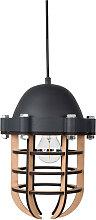 Navigator - Luminaire suspension métal et bois