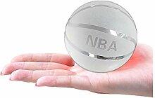 NBA Crystal Glass Basketball Modèle Figurine