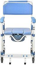 NBMNN Chaise Toilette roulettes Chaise Transport