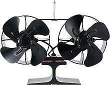 NC Le ventilateur de poêle à chaleur