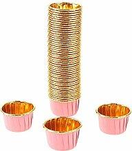 NC Lot de 50/100 moules à dessert pour muffins,