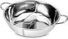 NC Poêle antiadhésive pour Hot Pot pour Table de