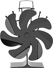 NC Ventilateur de cheminée de poêle à chaleur