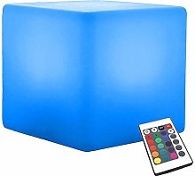 NDHENG Cube Lumineux, Rechargeable Couleur