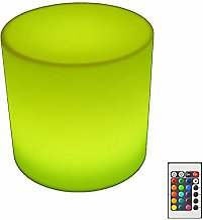 NDHENG LED Mood Cube Tabouret Lumineux Étanche