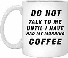 Ne me parlez pas avant d'avoir eu mon café du