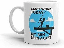 Ne peut pas fonctionner aujourd'hui, mon bras