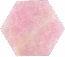 NEBSM Décoration 9 cm de Quartz Rose pavé Rose