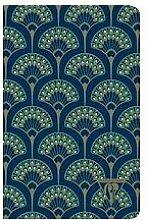 Neo Deco carnet piqûre textile 11x17cm 96 pages
