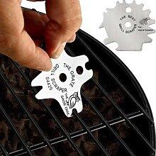 Nettoyeur de grille de Barbecue en métal