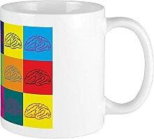 Neurology Pop Art Mug Blanc
