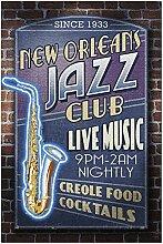 New Orleans, Louisiane - Puzzle 1000 pièces Jazz