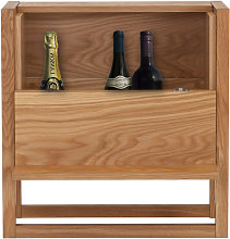 NewEst - Mini-bar design bois massif