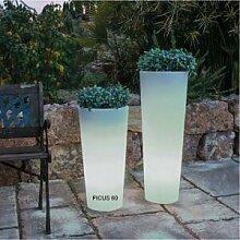 Newgarden Pot lumineux solaire Ficus 60 SmartTech,